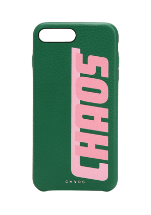 Printed Leather Iphone 7/8 Plus Cover