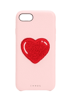 Heart Leather Iphone 7/8 Cover