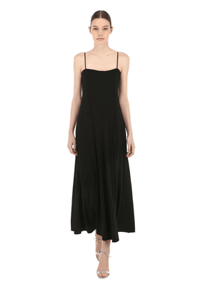 Stretch Viscose Crepe Dress
