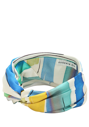 Malia Striped Satin Headband