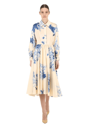 Floral Print Light Cotton Dress