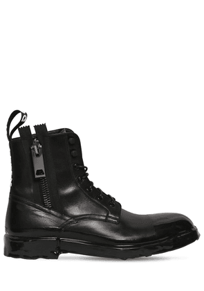 Firenze Leather Lace-up Boots