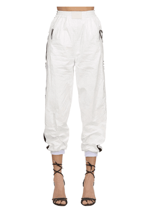 Track Pants With Satin Side Bands
