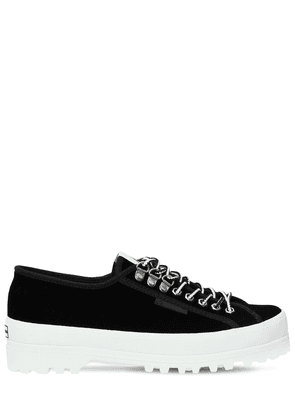 Superga 40mm Velvet Sneakers