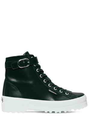 Superga 40mm Leather High Top Sneakers