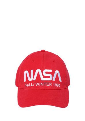 Nasa Embroidered Cotton Baseball Hat