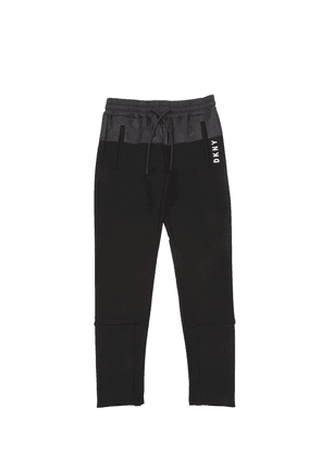 Stretch Jersey Pants W/ Nylon Detail
