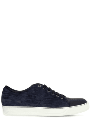 Lasered Leather Sneakers