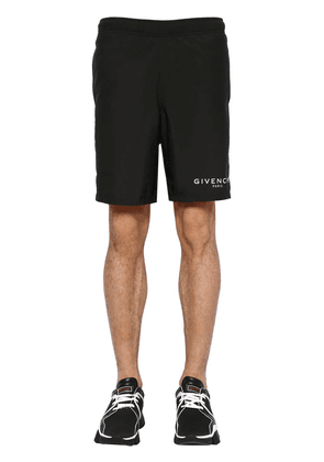 Logo Detail Nylon Swim Shorts