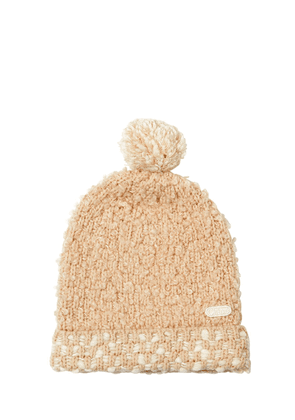 Wool Boucle Pompom Hat