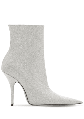 110mm Knife Glittered Ankle Boots