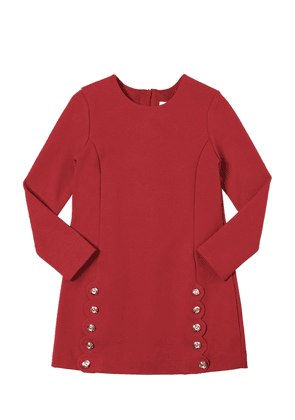 Milano Jersey Dress W/ Buttons