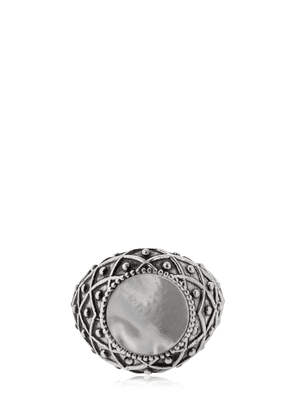 Stone Mother Of Pearl Ring
