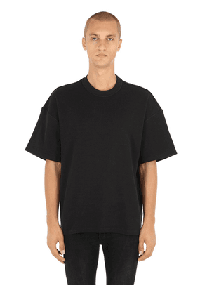 Inside-out Cotton Jersey T-shirt