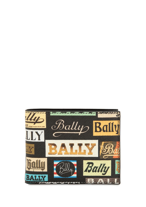 Printed Coated Leather Classic Wallet