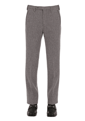 23cm Flared Wool Pants