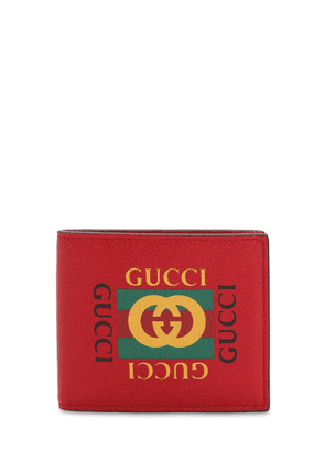 Vintage Logo Leather Wallet
