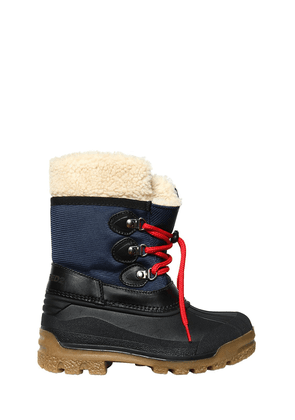 Nylon & Rubber Snow Boots