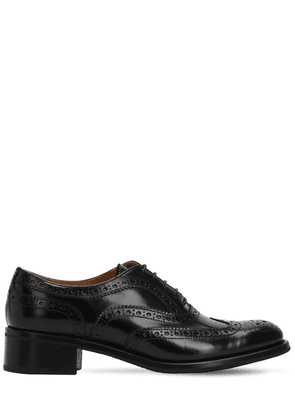 35mm Catherine Brogue Leather Shoes