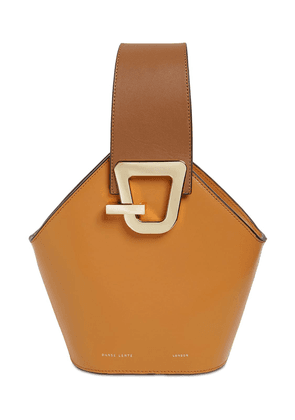 Mini Johnny Leather Top Handle Bag