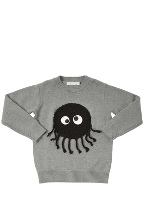 Terrycloth Monster Cotton & Wool Sweater