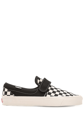 Slip-on 47 Dx Checkered Canvas Sneakers