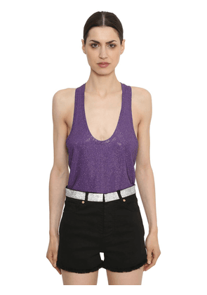 Embellished Jersey Tank Top