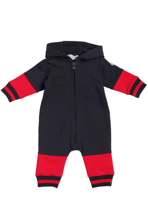 Hooded Cotton Romper