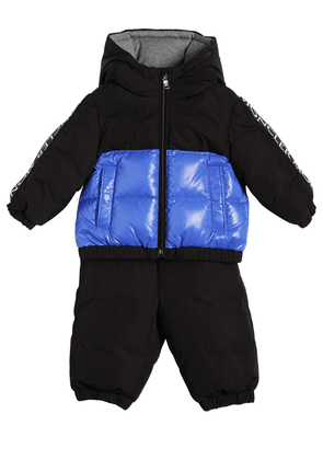 Germont Hooded Nylon Down Jacket & Pants