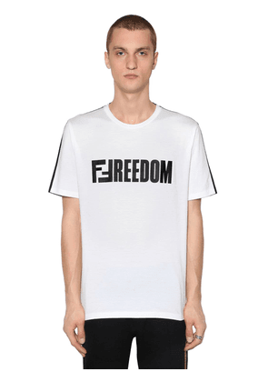 Two Tone Ffreedom Jersey T-shirt
