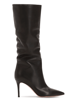 85mm Slouchy Nappa Leather Boots