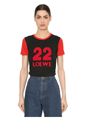 22 Patch Cotton Jersey T-shirt