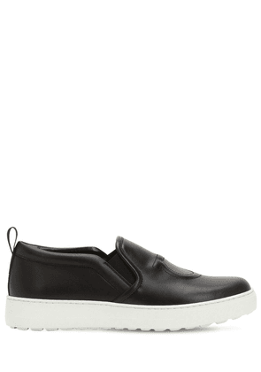 30mm Folgaria Leather Slip-on Sneakers