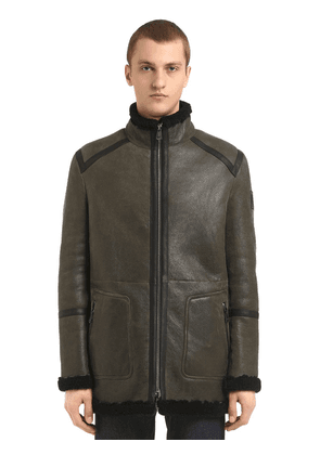 Greenstead Reversible Shearling Jacket