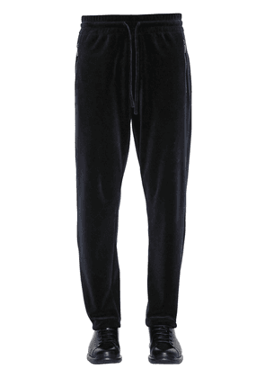 Cotton Velvet Sweatpants