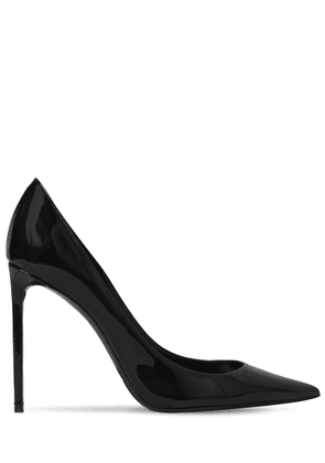 105mm Zoe Patent Leather Pumps