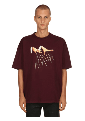 Oversized Cotton Printed T-shirt
