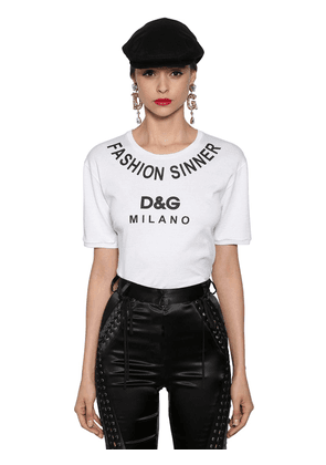Fashion Sinner Printed Jersey T-shirt