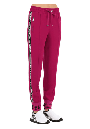 Logo Bands Cady Sweatpants