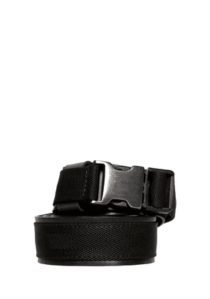 35mm Webbing & Leather Belt