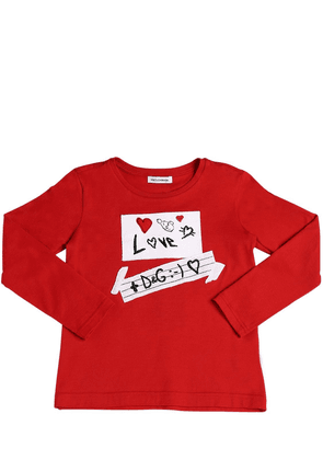Love Patches Jersey Long Sleeve T-shirt