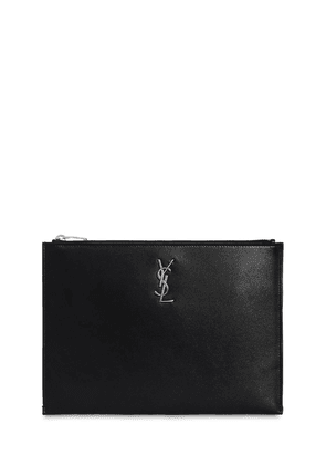Monogram Smooth Leather Pouch