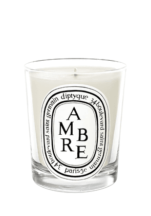 190gr Ambre Scented Candle
