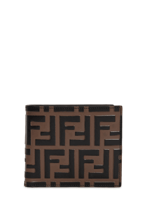 Ff Embossed Leather Classic Wallet