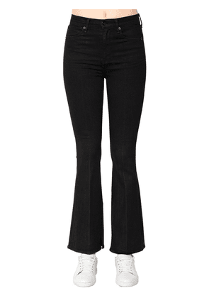 Bella Flared Cotton Denim Jeans