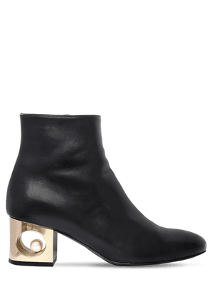 55mm Tiffany Leather Ankle Boots
