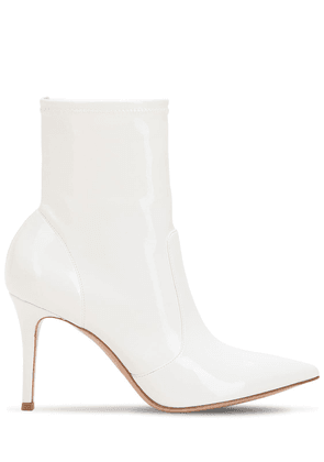 85mm Stretch Vinyl Ankle Boots