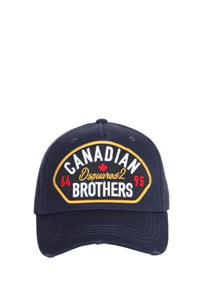 Canadian Brothers Patch Baseball Hat