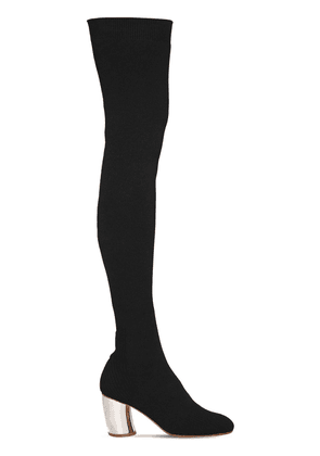 70mm Knit Over The Knee Boots