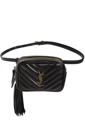 Lou Quilted Leather Belt Bag